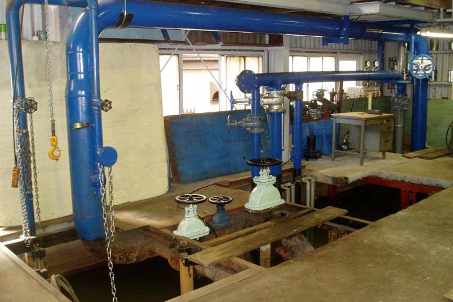 水中性能試験設備